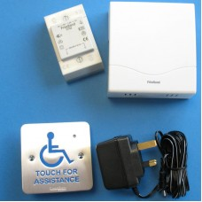 TouchCall - Disabled Access Alert System - Wall Mount, with Wired Chime