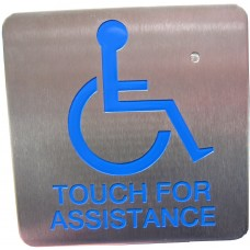 Touch-For-Assistance, Sense Through Glass
