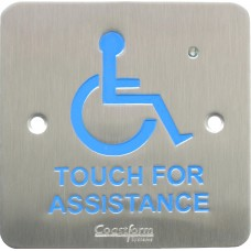 Touch-For-Assistance, Wall Mount